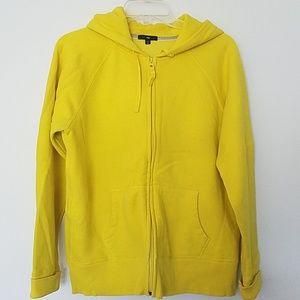 Yellow women's Gap hoodie